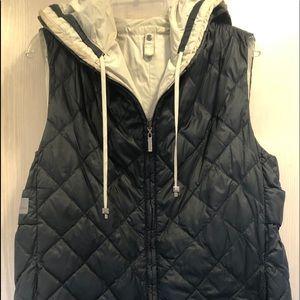 S Max Mara down filled reversible vest